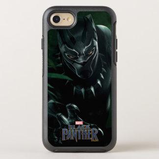 Coque OtterBox Symmetry iPhone 8/7 Panthère noire | dans la jungle