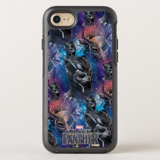 Coque OtterBox Symmetry iPhone 8/7 Panthère noire noire de la panthère | et motif de