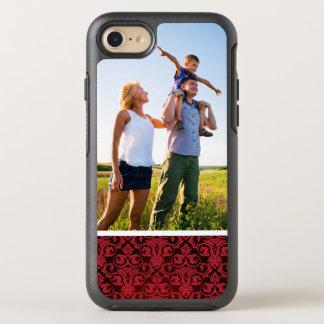Coque OtterBox Symmetry iPhone 8/7 Papier peint rouge 2 de photo