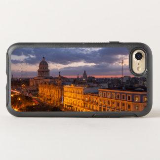 Coque OtterBox Symmetry iPhone 8/7 Paysage urbain au coucher du soleil, La Havane,