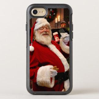 Coque OtterBox Symmetry iPhone 8/7 Père Noël avec du lait et des biscuits