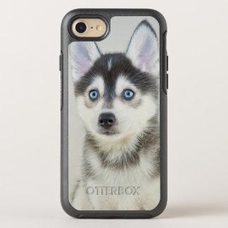 Coque OtterBox Symmetry iPhone 8/7 Petit chiot mignon de Pomsky