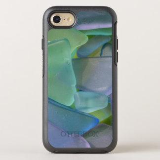 Coque OtterBox Symmetry iPhone 8/7 Pile de verre bleu de plage, Alaska