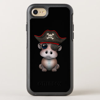 Coque OtterBox Symmetry iPhone 8/7 Pirate mignon d'hippopotame de bébé