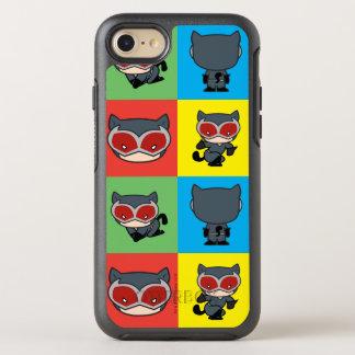 Coque OtterBox Symmetry iPhone 8/7 Poses de caractère de Catwoman de Chibi
