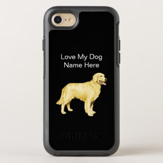 Coque OtterBox Symmetry iPhone 8/7 Race jaune de chien de laboratoire