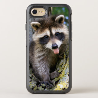 Coque OtterBox Symmetry iPhone 8/7 Raton laveur de bébé