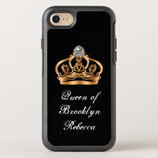 Coque OtterBox Symmetry iPhone 8/7 Reine royale chique drôle