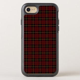 Coque OtterBox Symmetry iPhone 8/7 Rouge de brique profond avec la rayure jaune et