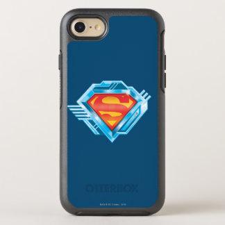 Coque OtterBox Symmetry iPhone 8/7 S-Bouclier logo rouge et bleu de | de Superman en