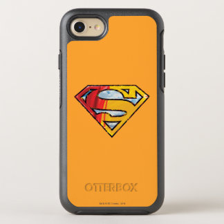 Coque OtterBox Symmetry iPhone 8/7 S-Bouclier logo rouge et orange de | de Superman