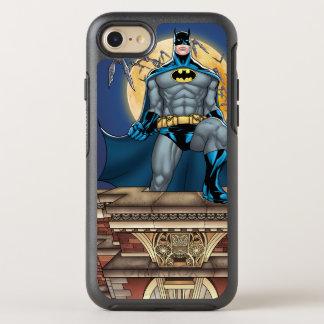Coque OtterBox Symmetry iPhone 8/7 Scènes de Batman - vue de face de lune
