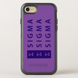 Coque OtterBox Symmetry iPhone 8/7 Sigma de sigma de sigma empilé