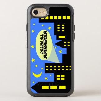 Coque OtterBox Symmetry iPhone 8/7 Superhéros de la couverture | de cas de téléphone