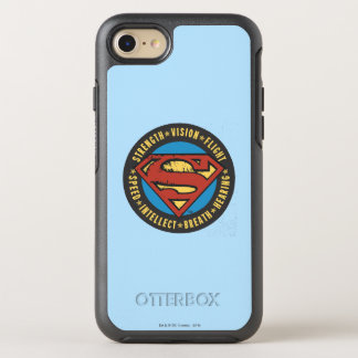 Coque OtterBox Symmetry iPhone 8/7 Superman a stylisé le logo de vol de vision de