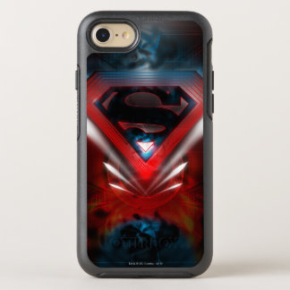 Coque OtterBox Symmetry iPhone 8/7 Superman a stylisé le logo futuriste de |