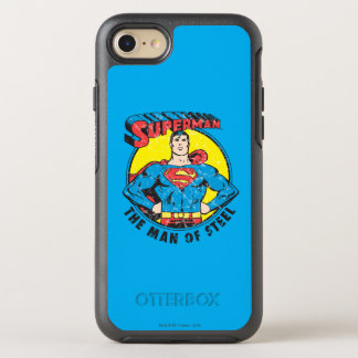 Coque OtterBox Symmetry iPhone 8/7 Superman l'homme de l'acier