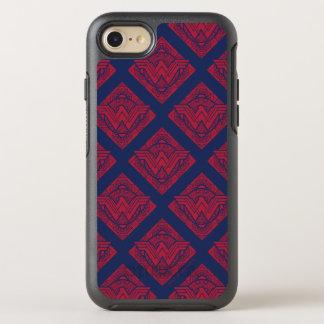 Coque OtterBox Symmetry iPhone 8/7 Symbole amazonien de femme de merveille