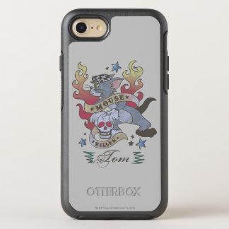 Coque OtterBox Symmetry iPhone 8/7 Tatouage 2 de tueur de souris de Tom