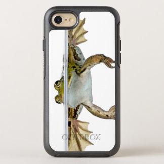 Coque OtterBox Symmetry iPhone 8/7 Tiré d'une grenouille comestible apprêtant devant