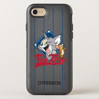 Coque OtterBox Symmetry iPhone 8/7 Tom et Jerry | Tom et Jerry sur le diamant de