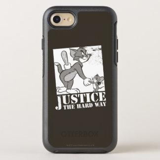 Coque OtterBox Symmetry iPhone 8/7 Tom et juge de Jerry la manière dure