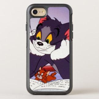 Coque OtterBox Symmetry iPhone 8/7 Tom et livre de lecture de Jerry dédicacé