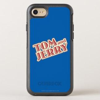 Coque OtterBox Symmetry iPhone 8/7 Tom et logo de Jerry