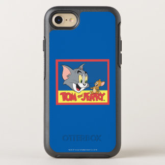 Coque OtterBox Symmetry iPhone 8/7 Tom et logo de Jerry plat