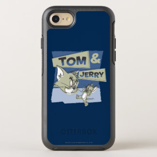 Coque OtterBox Symmetry iPhone 8/7 Tom et souris de Jerry Scaredey