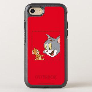Coque OtterBox Symmetry iPhone 8/7 Tom et timbre de Jerry