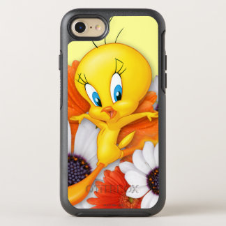 Coque OtterBox Symmetry iPhone 8/7 Tweety avec des marguerites