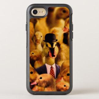 Coque OtterBox Symmetry iPhone 8/7 Un canard dans un casquette de lanceur et un