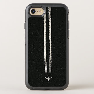 Coque OtterBox Symmetry iPhone 8/7 Vers le haut de dans le Contrail de ciel/avion de