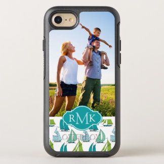 Coque OtterBox Symmetry iPhone 8/7 Voiliers sur le motif | de l'eau votre photo et