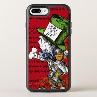 Coque OtterBox Symmetry iPhone 8 Plus/7 Plus Alice dans le chapelier fou du pays des merveilles