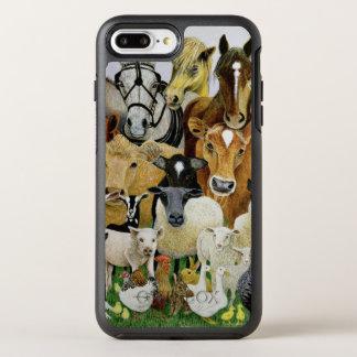 Coque OtterBox Symmetry iPhone 8 Plus/7 Plus Allsorts animal