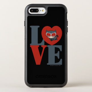 Coque OtterBox Symmetry iPhone 8 Plus/7 Plus AMOUR de Catwoman de Chibi