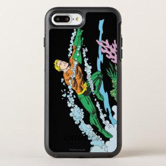Coque OtterBox Symmetry iPhone 8 Plus/7 Plus Aquaman saute le corail