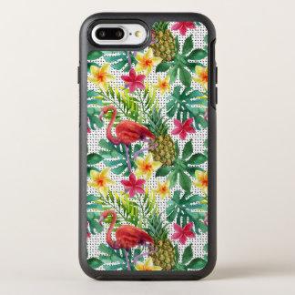 Coque OtterBox Symmetry iPhone 8 Plus/7 Plus Aquarelle tropicale