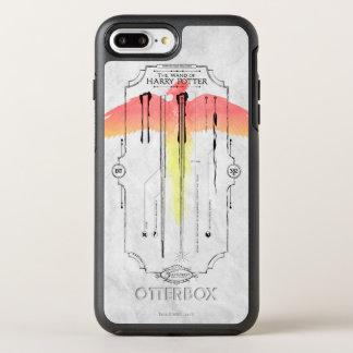 Coque OtterBox Symmetry iPhone 8 Plus/7 Plus Baguette magique Infographic du charme | Harry de
