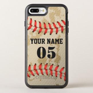 Coque OtterBox Symmetry iPhone 8 Plus/7 Plus Base-ball vintage frais clair