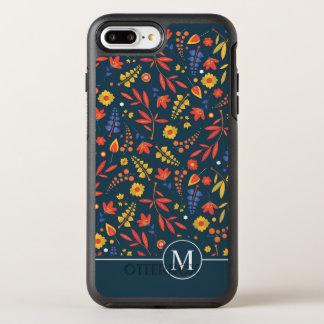 Coque OtterBox Symmetry iPhone 8 Plus/7 Plus Beau cas Ditzy floral classique de téléphone de  