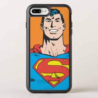 Coque OtterBox Symmetry iPhone 8 Plus/7 Plus Cadre de buste de Superman