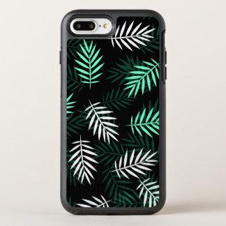 Coque OtterBox Symmetry iPhone 8 Plus/7 Plus Caisse blanche et verte élégante de téléphone des