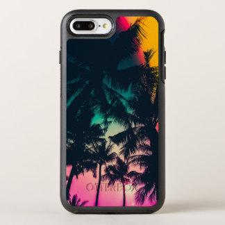 Coque OtterBox Symmetry iPhone 8 Plus/7 Plus Caisse colorée de téléphone de la silhouette | de