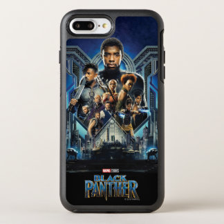 Coque OtterBox Symmetry iPhone 8 Plus/7 Plus Caractères de la panthère noire | au-dessus de