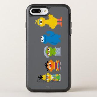 Coque OtterBox Symmetry iPhone 8 Plus/7 Plus Caractères de Sesame Street de pixel