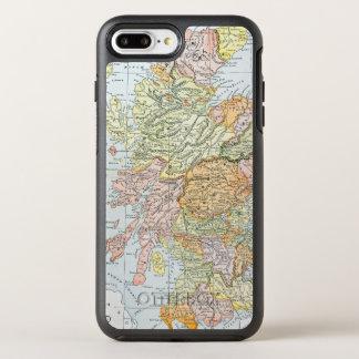 COQUE OtterBox SYMMETRY iPhone 8 PLUS/7 PLUS  CARTE : L'ECOSSE