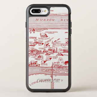 Coque OtterBox Symmetry iPhone 8 Plus/7 Plus CARTE : MANHATTAN, c1935